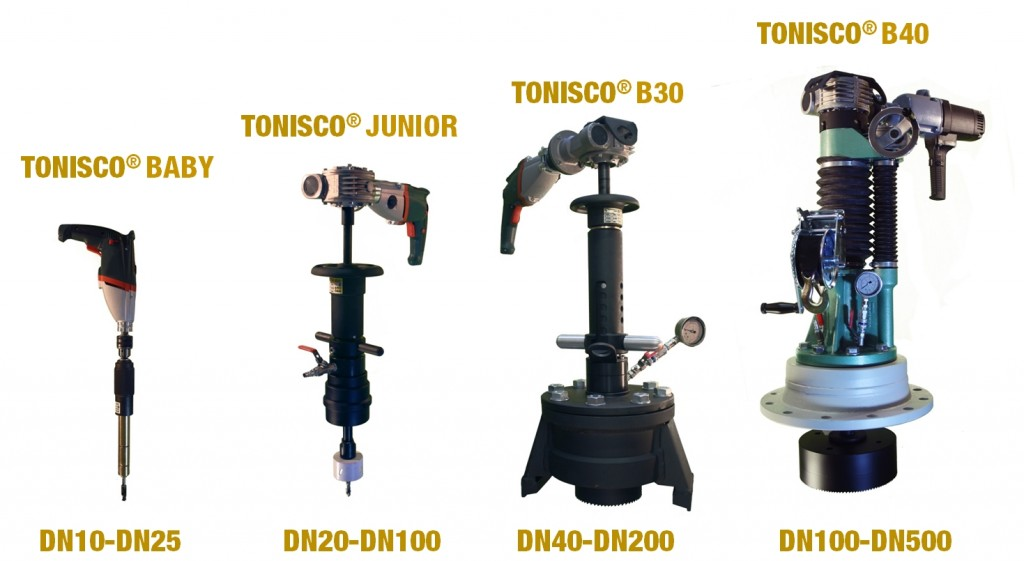 Hot Tapping Machines from Tonisco®